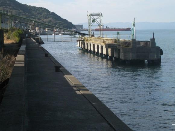 下津漁港 桟橋前