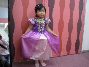 ドレスを纏う姫君
