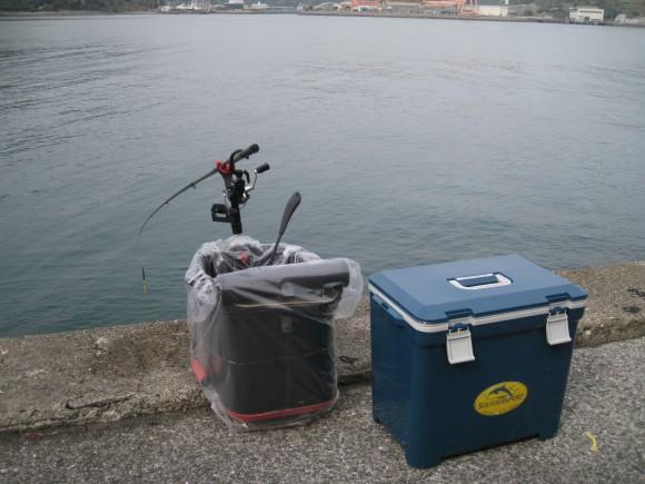 管理人の釣り座