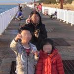 大阪南港の『魚釣り園護岸』でアジのサビキ釣り