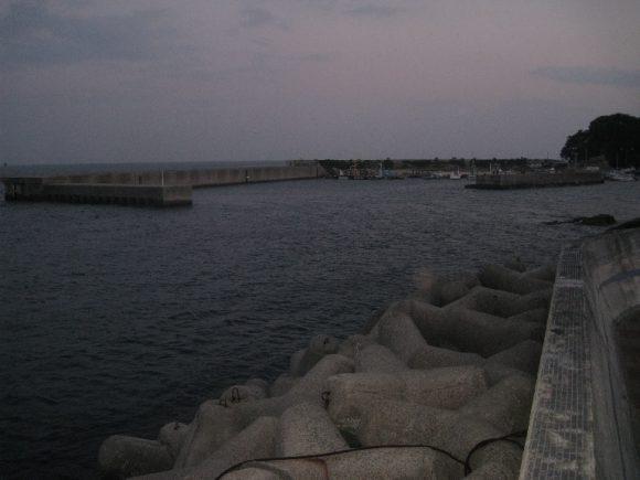 岩屋港テトラ帯
