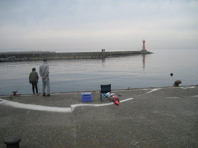 深日漁港の赤灯