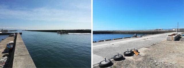 仮屋漁港へ寄り道