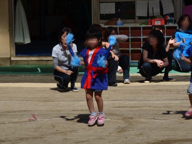 姫君の運動会での演戯