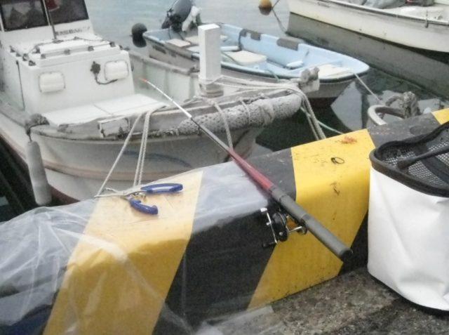 深日港港湾内の係留場所