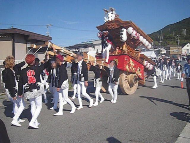 小島漁港秋祭り