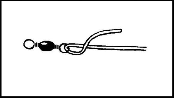 【クリンチノットインプルーブド】サルカンの結び方(1)