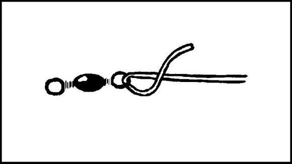 【クリンチノット】サルカンの結び方(1)