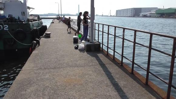 人気の桟橋