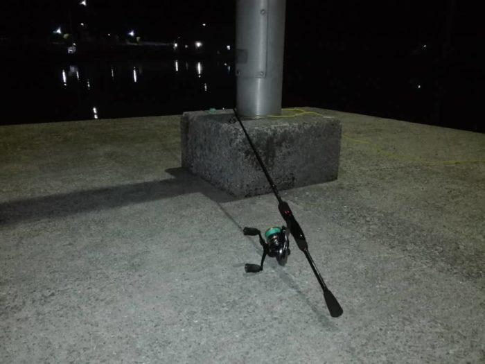 ポイントを絞り込みやすい夜釣り