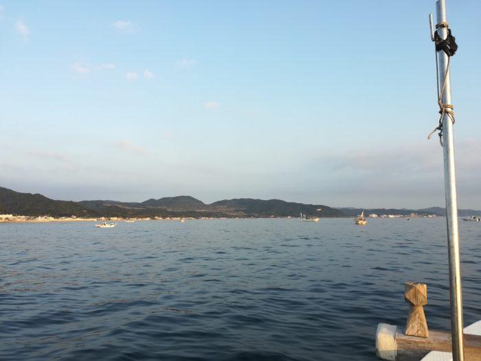 釣り場は由良の成ヶ島沖