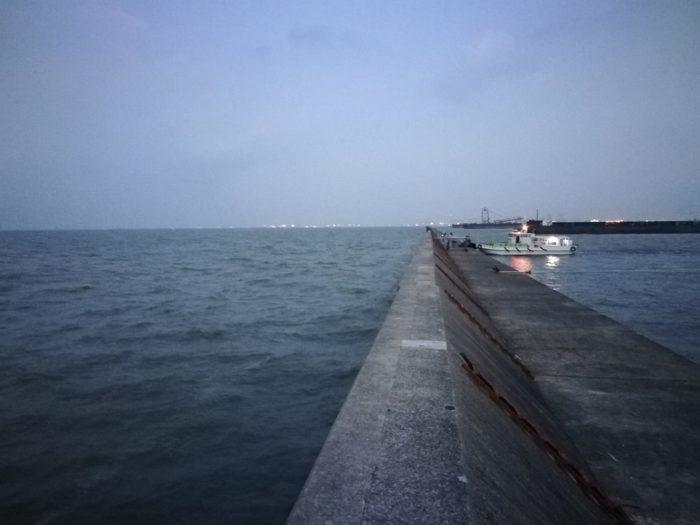 武庫川一文字の5番で下船