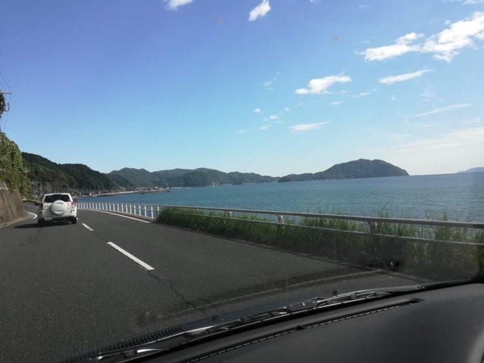 伊根へ向かう道中の景色