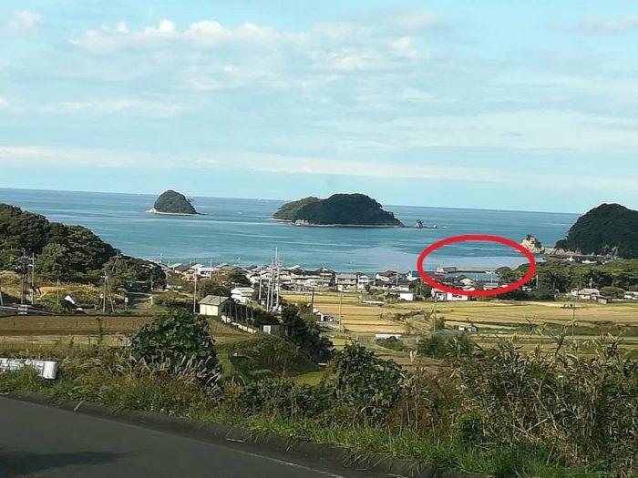 日本海の外海の景色は壮観