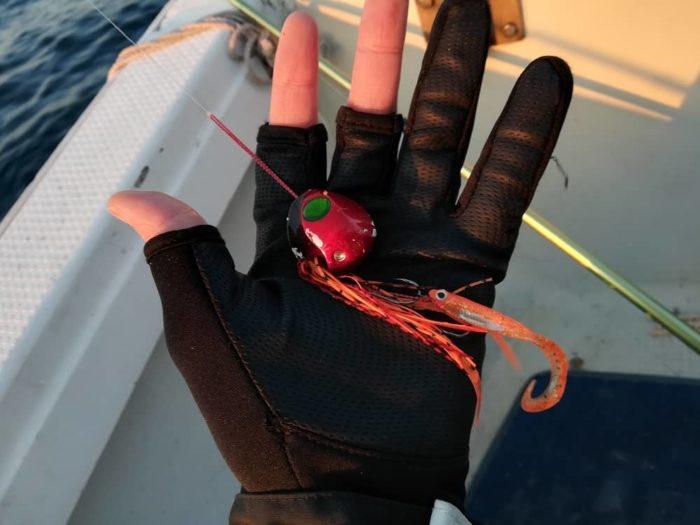 真冬のタイラバで真鯛を狙う