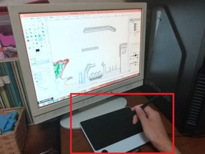 ペンタブ導入でイラスト作成も効率化