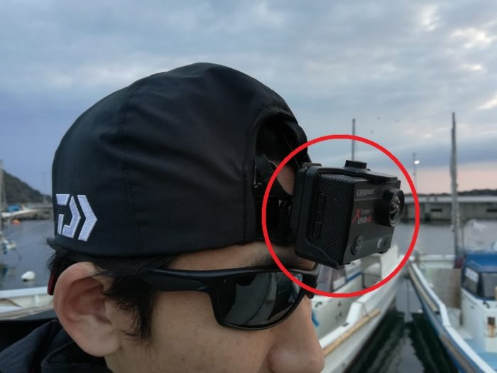 アクションカメラでヒットの様子を動画でお届け