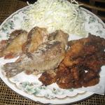 カサゴとソイとハマチの揚げ物
