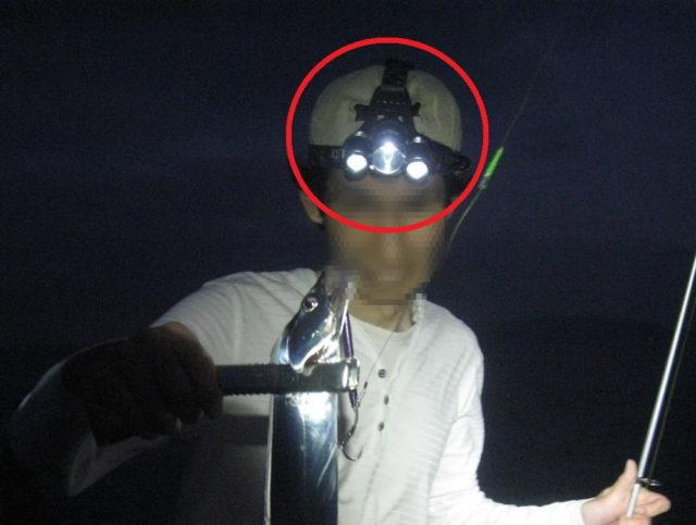 夜釣りに必携ヘッドライト