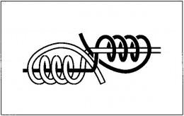 釣り糸と釣り糸の結び方(3)