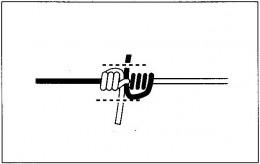 釣り糸と釣り糸の結び方(4)