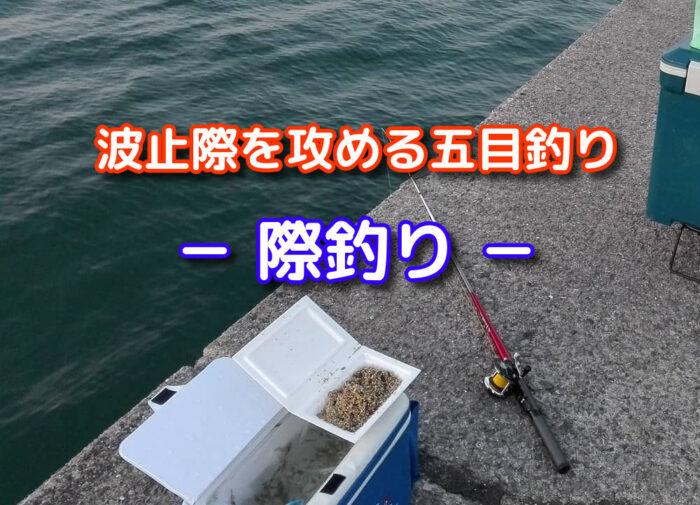 胴付き仕掛けで五目釣り【際釣り】