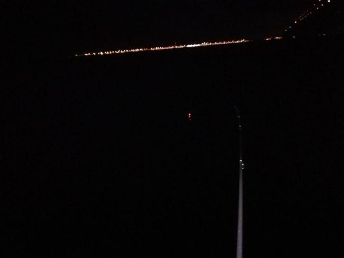 夏の夜の電気ウキ釣り
