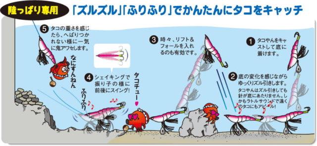 YO-ZURI 『タコやん』の説明書