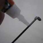釣り竿の修理