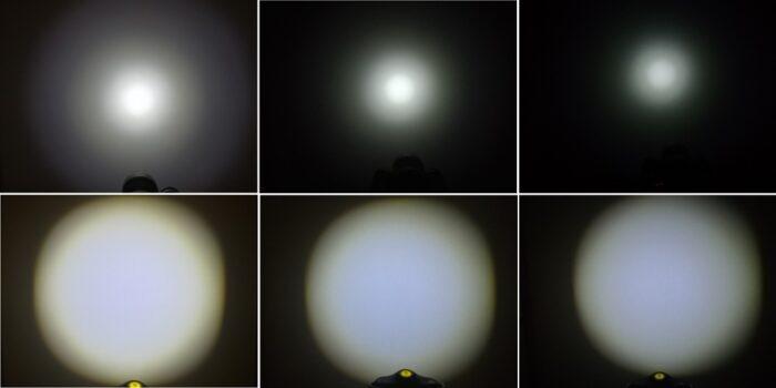連続点灯による明るさの減少
