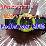夜釣りにおすすめ!最強ヘッドライト「レッドレンザーMH5」