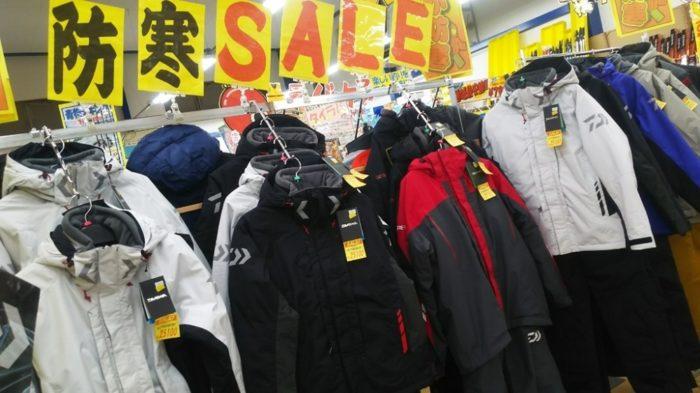ウインタースーツはセール時以外は買えない!?