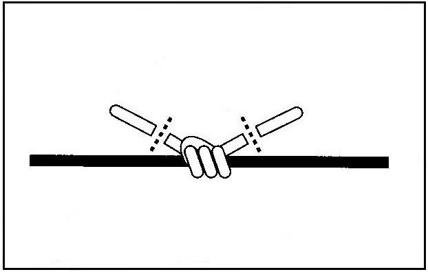 ウキ止めの結び方(4)