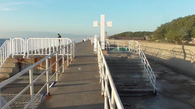 護岸北側スロープ